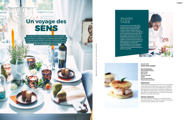 Arts et gastronomie automne 2017