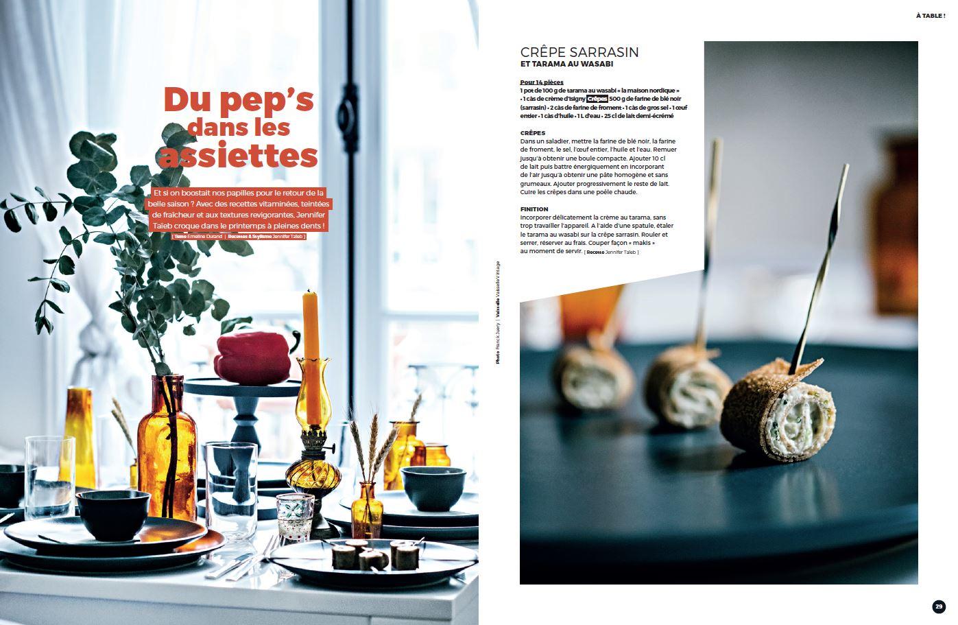 Arts et gastronomie Printemps