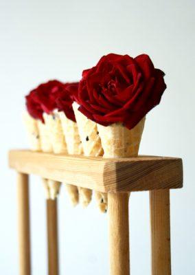 Le cornet de rose